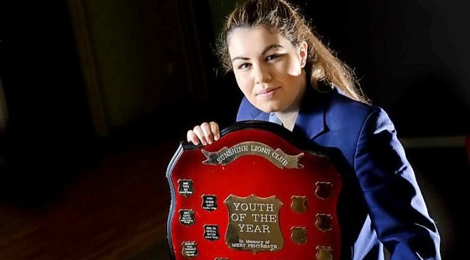 Alannah  Ciangura – Youth of the Year 2015